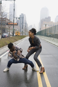 Urban Black Couple  16