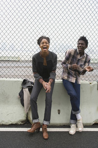 Urban Black Couple 21