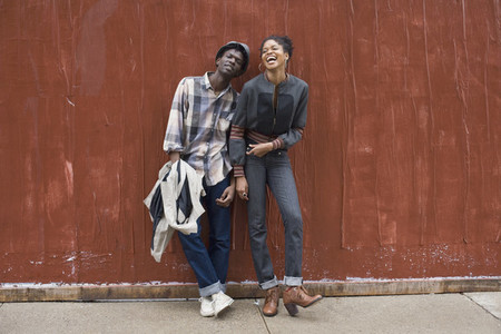 Urban Black Couple  23