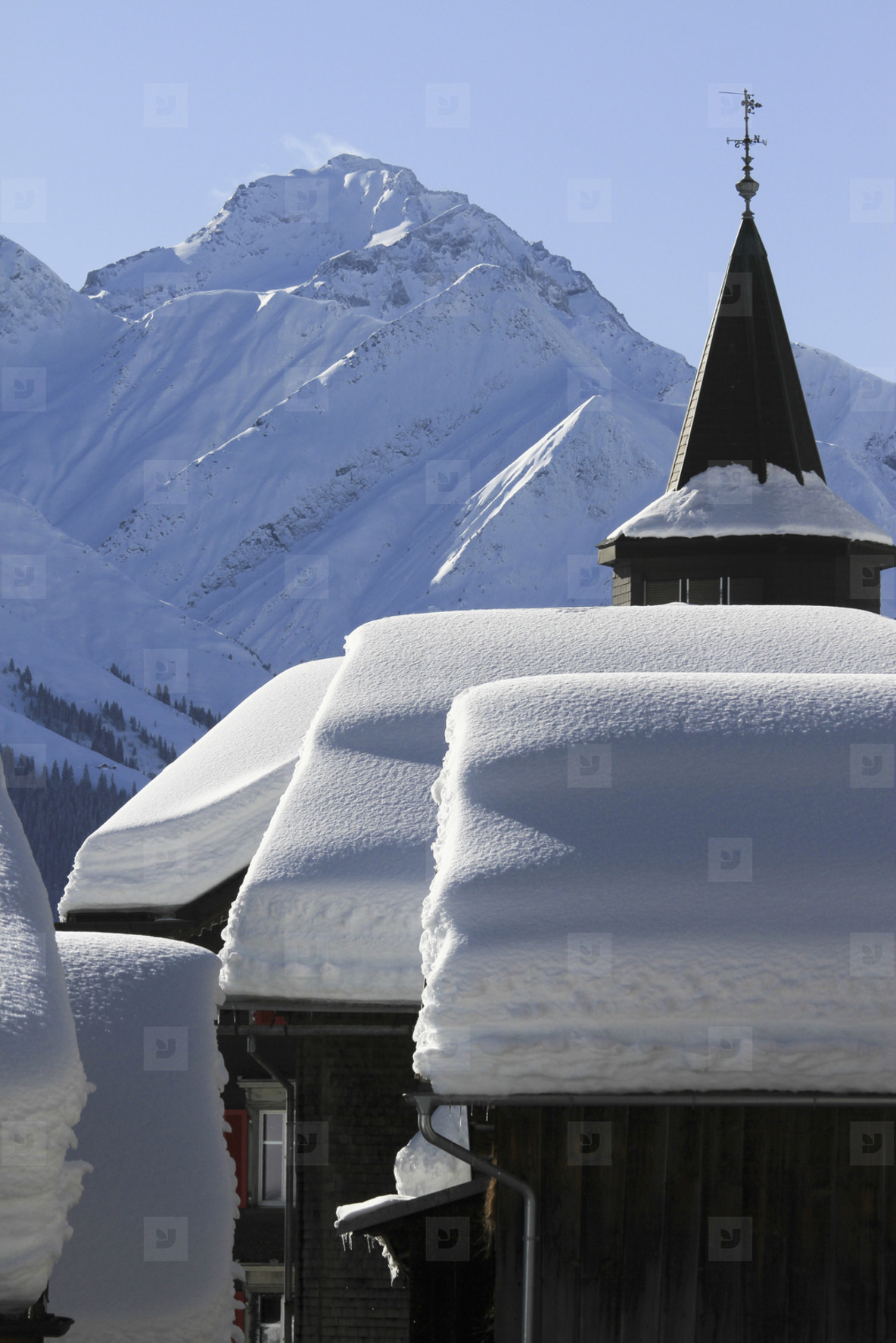 Snowy Mountain Trails  33