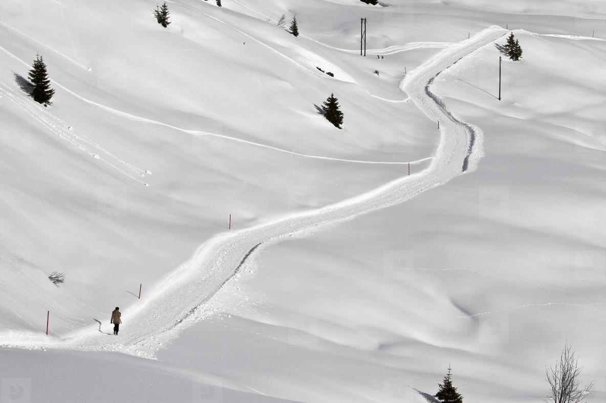 Snowy Mountain Trails  44