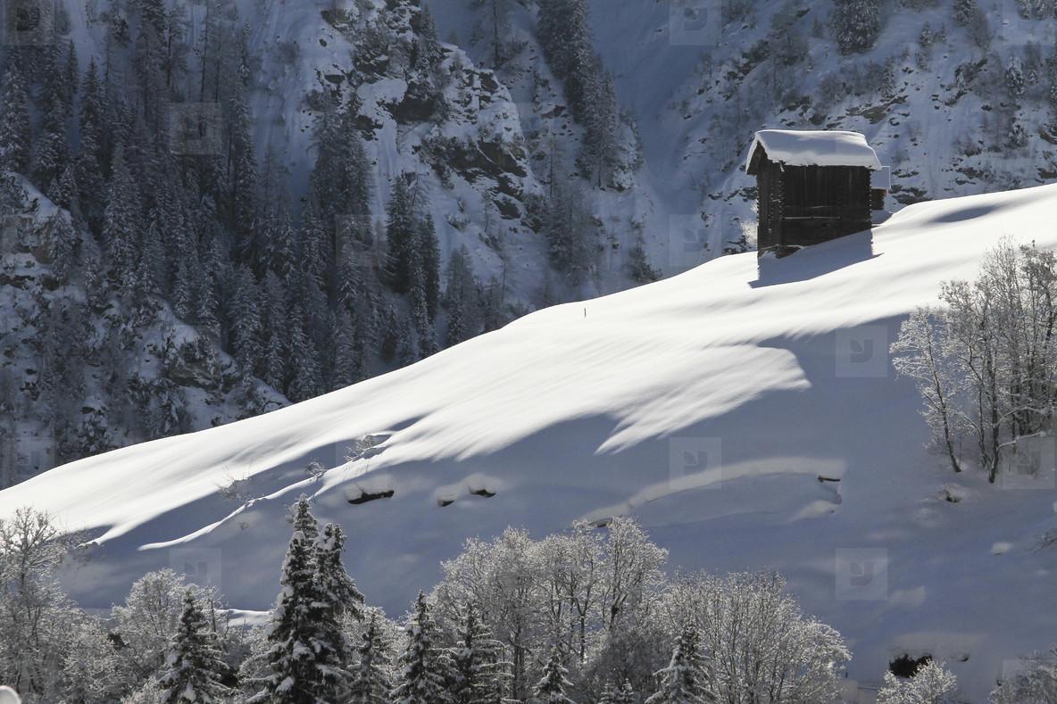 Snowy Mountain Trails  45