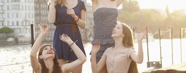 Girls Having Fun  04