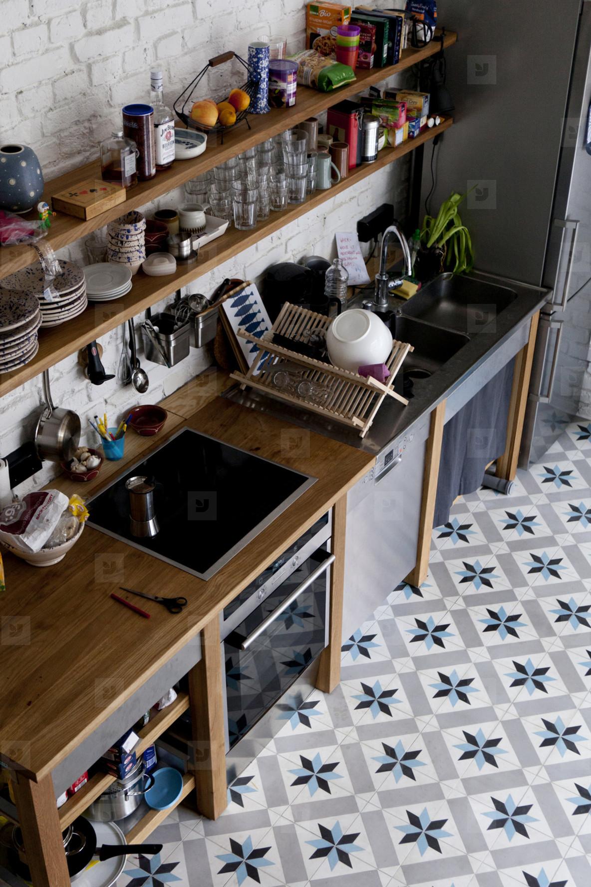 Kitchen Couple  02