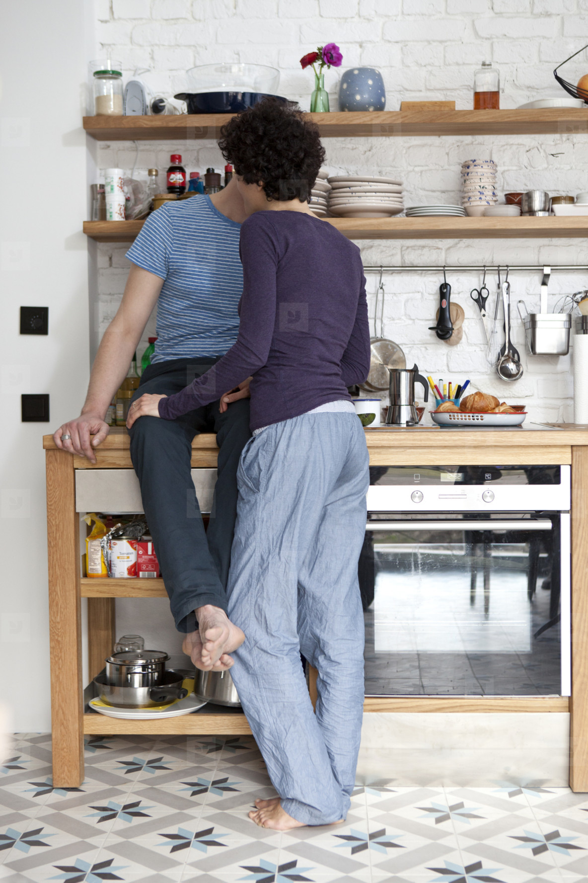 Kitchen Couple  27
