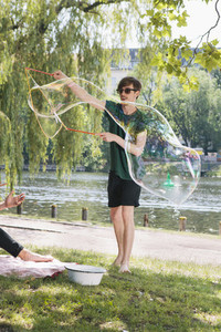 Bubbles in the Park 02