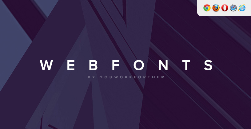 Download YouWorkForThem Web Fonts