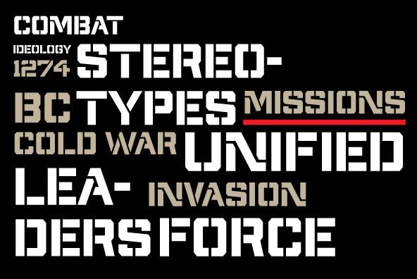 Militia Sans