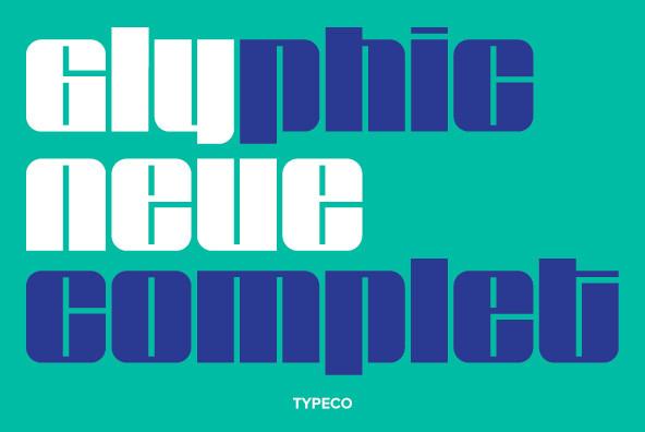Glyphic Neue Complete