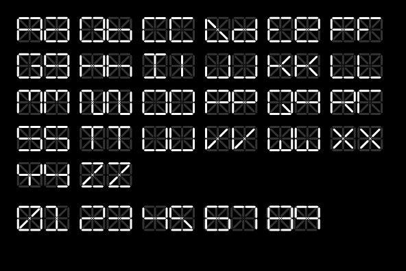 C13 LCD