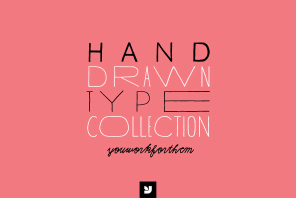 Hand Drawn Type Collection