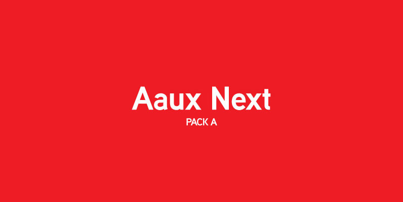 Aaux Next Pack A
