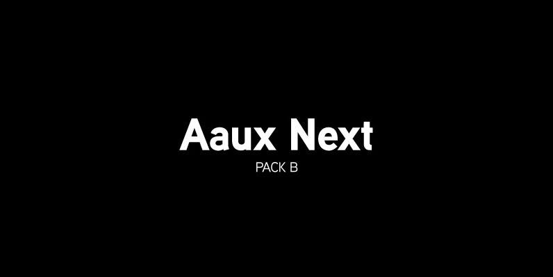 Aaux Next Pack B