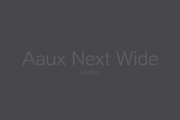 Aaux Next Wide Family