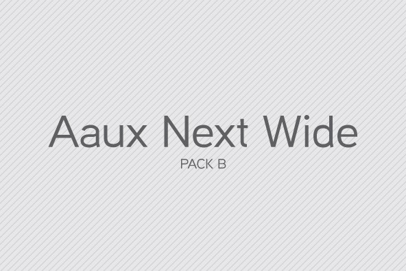 Aaux Next Wide Pack B