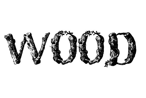 Wood font desktop webfont youworkforthem
