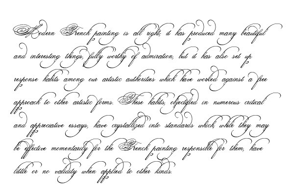 Spencerian Penmanship Day 9 Book 2 Page 18 - YouTube