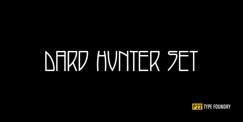 P22 Dard Hunter Font Set