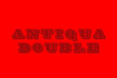 Antiqua Double 12