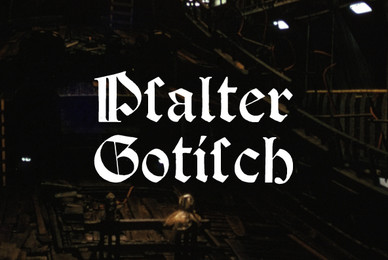Psalter Gotisch