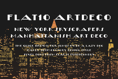 Flat10 ArtDeco