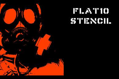 Flat10 Stencil