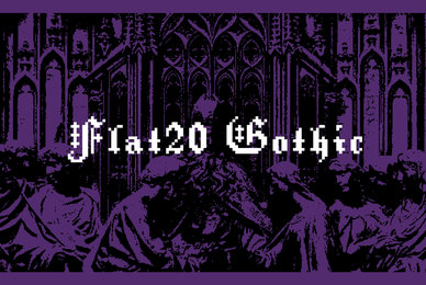 Flat20 Gothic