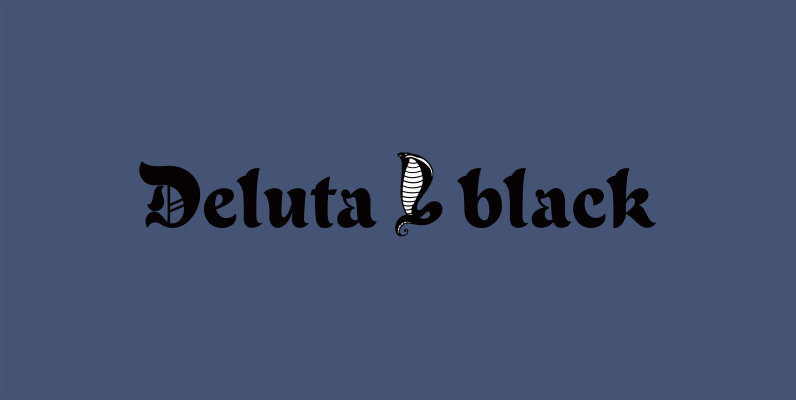 Deluta Black