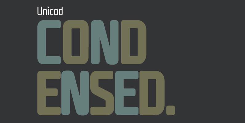 Unicod Sans Condensed