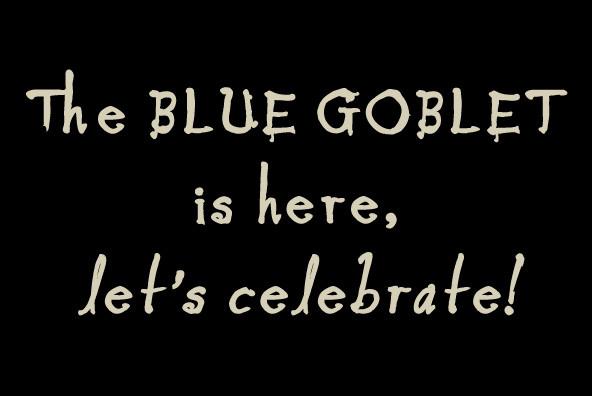 Blue Goblet