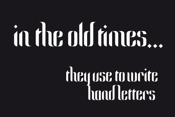 White Font