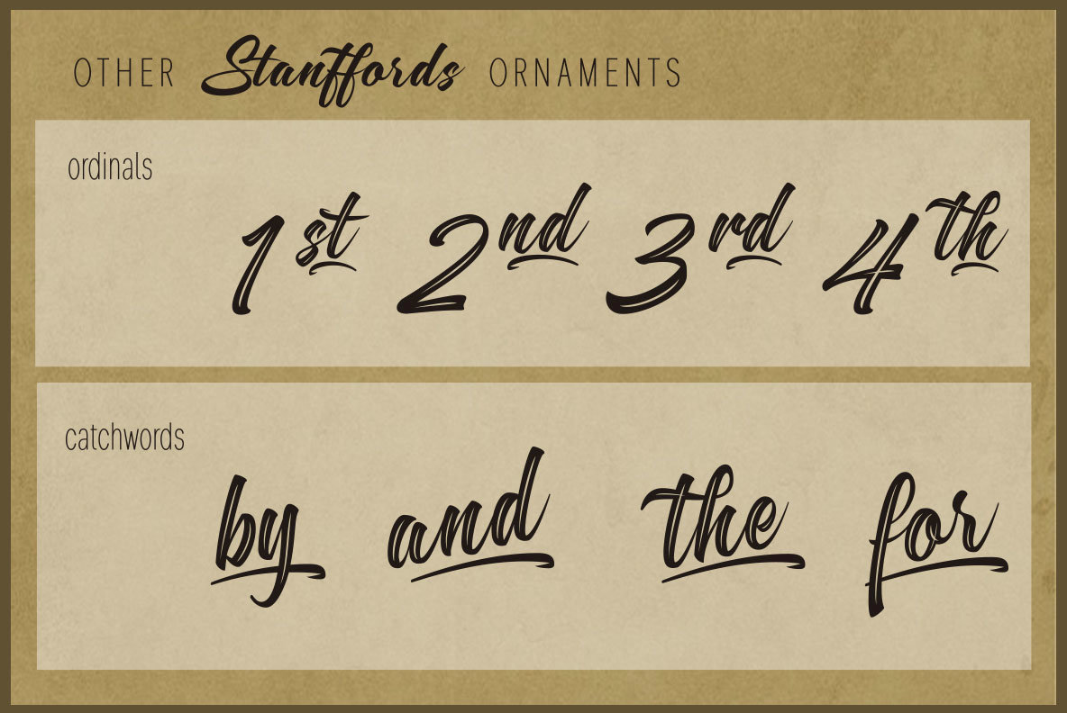 Stanffords