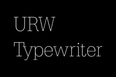 URW Typewriter