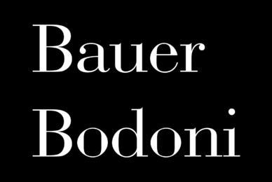 Bauer Bodoni