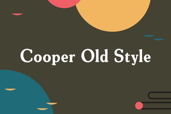 Cooper Old Style