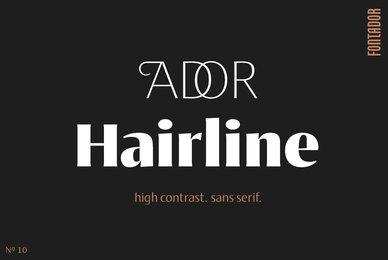 Ador Hairline
