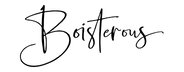 Boisterous Signature Script