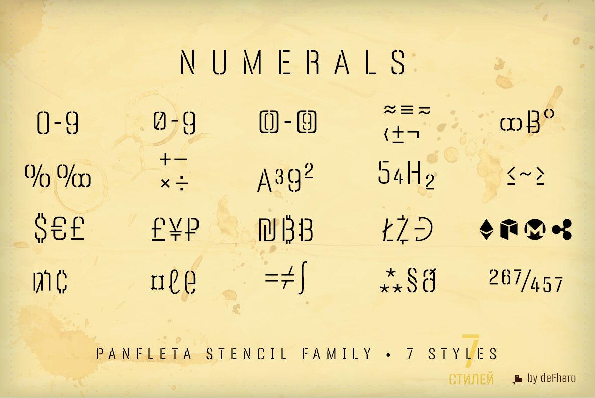 Panfleta Stencil