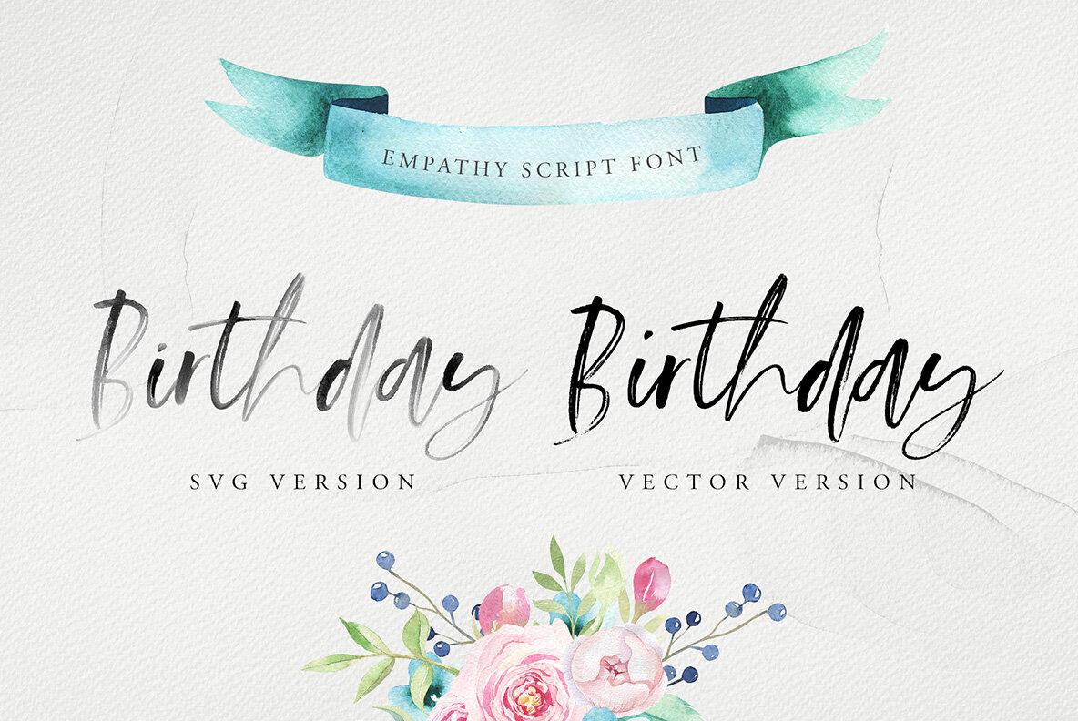 Empathy SVG Font