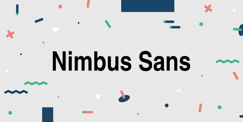 Nimbus Sans