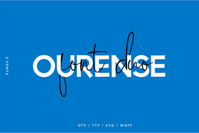 Ourense font duo