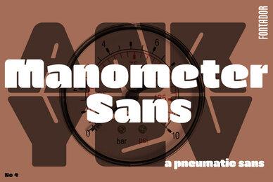 Manometer Sans