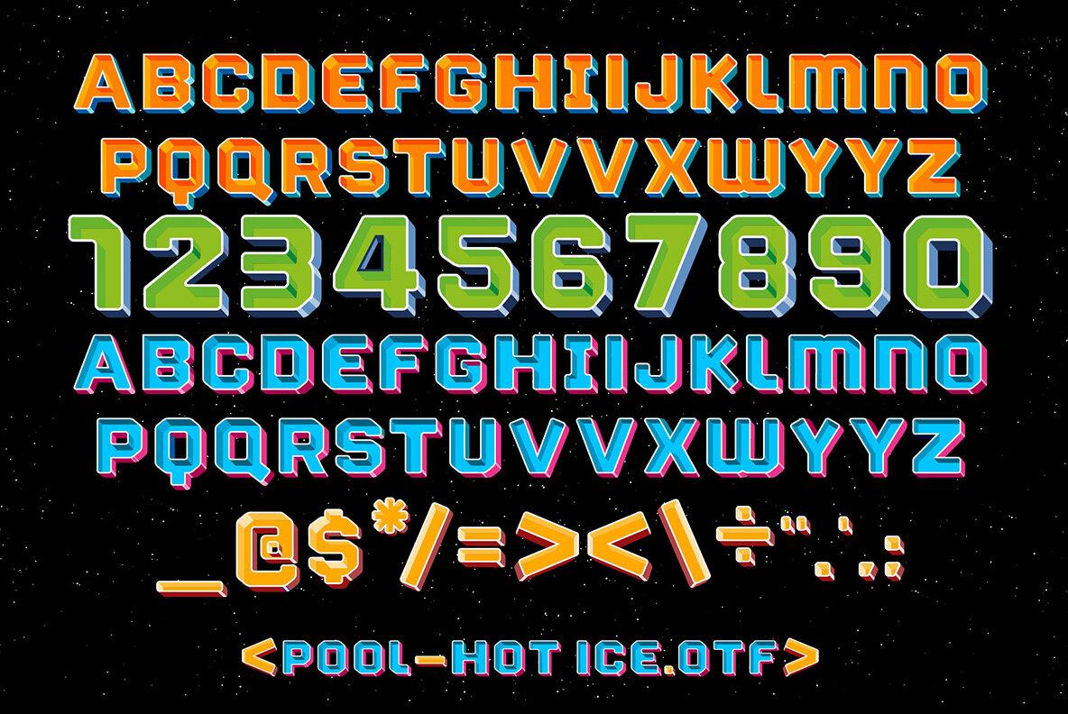 Pool   SVG Color Font