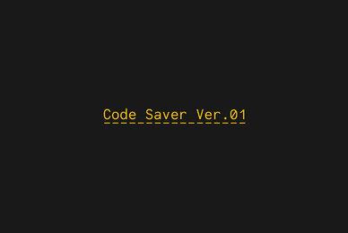 Code Saver