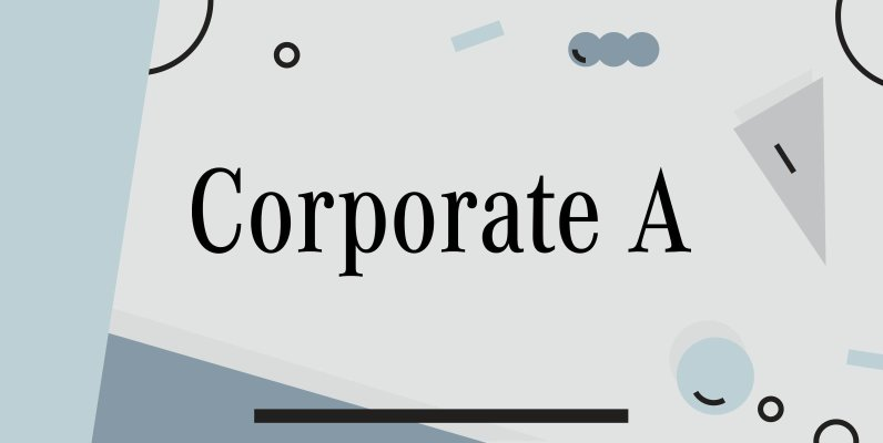 Corporate A
