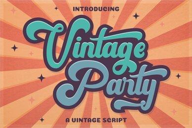 Vintage Party