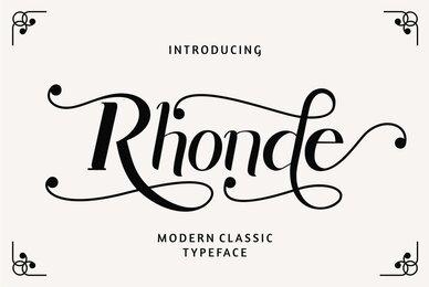 Rhonde