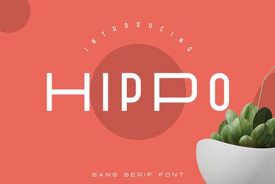 Hippo Sans Serif