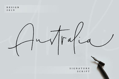 Australia Signature Script