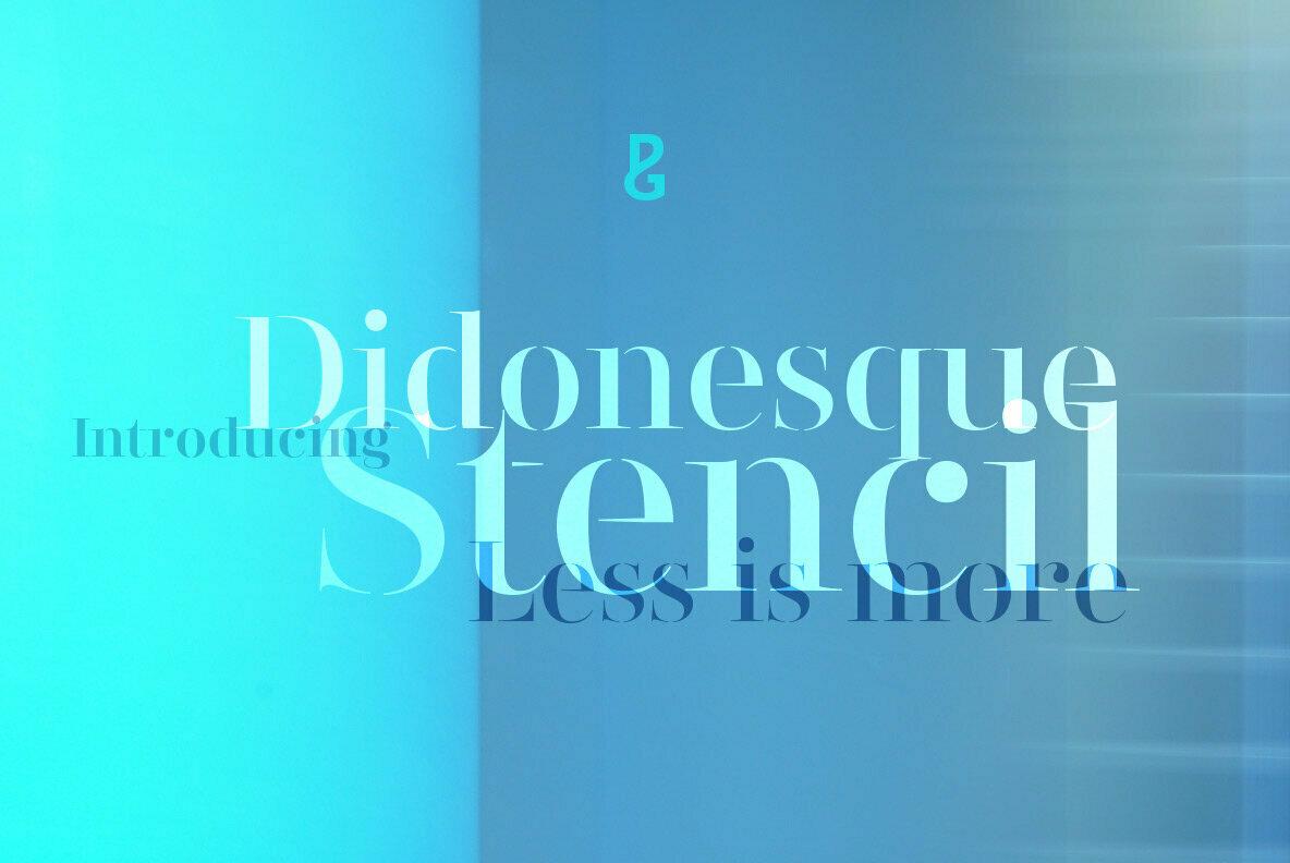 Didonesque Stencil